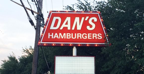 Dans Hamburgers Sign