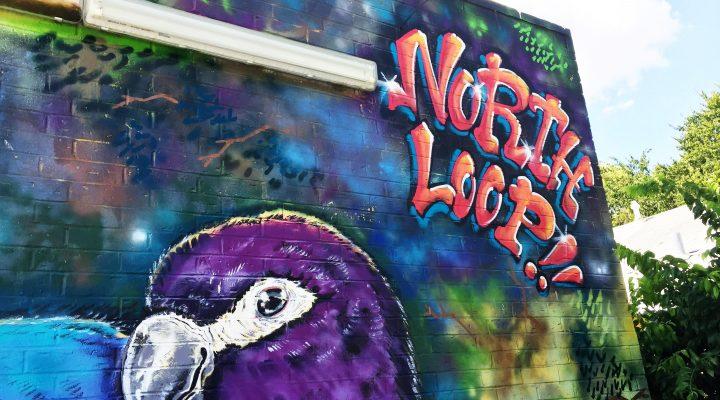 Ambient North Loop Wall